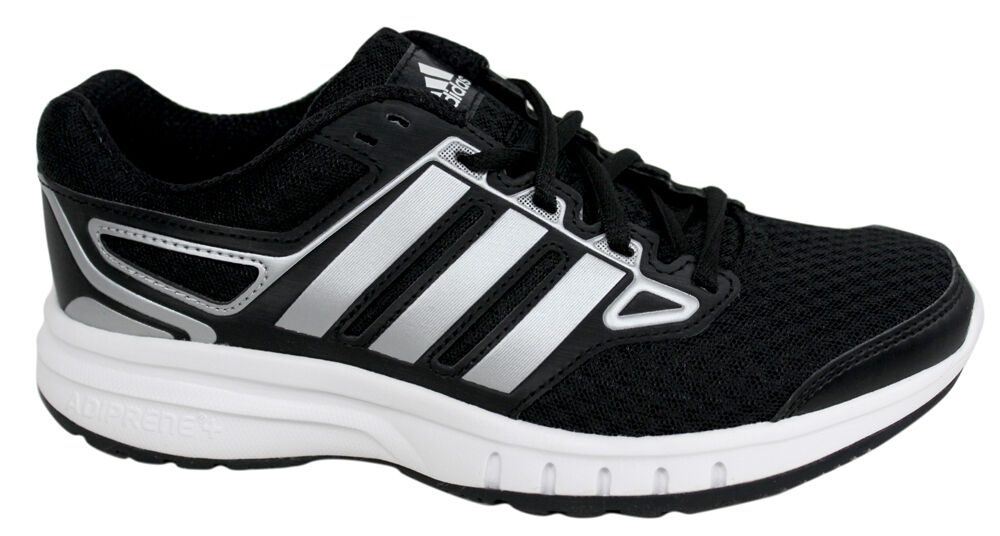 factory authentic fb16a 9bfea Details about Adidas Galactic Elite Womens Black Lace Up Running Fitness  Trainers D22