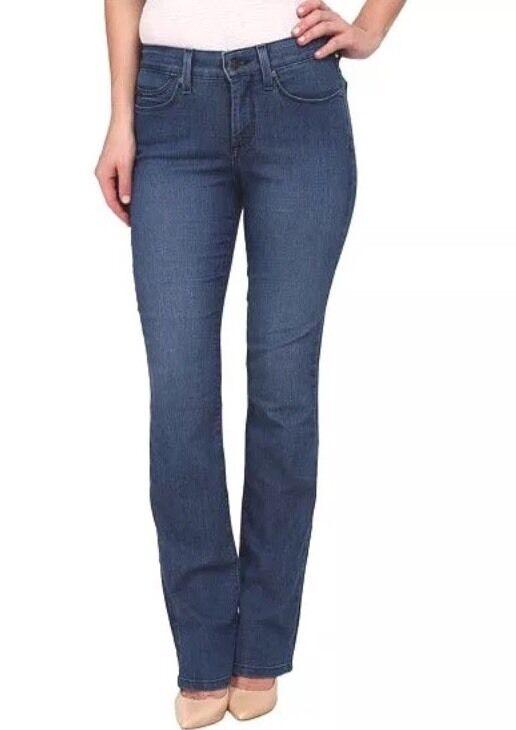 10 Nouveau Neuf avec étiquettes NYDJ Jeans Billie Mini Stiefelcut in Yucca Valley