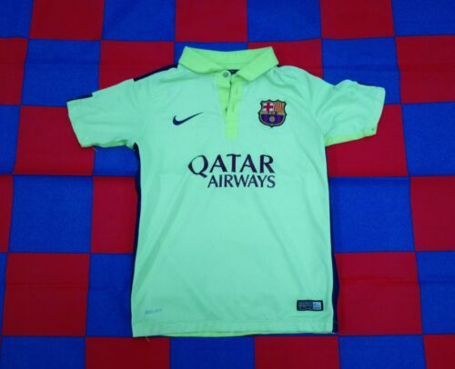 FC Barcelona 20142015 Official Nike Football 3rd Shirt Youths 1012 Years