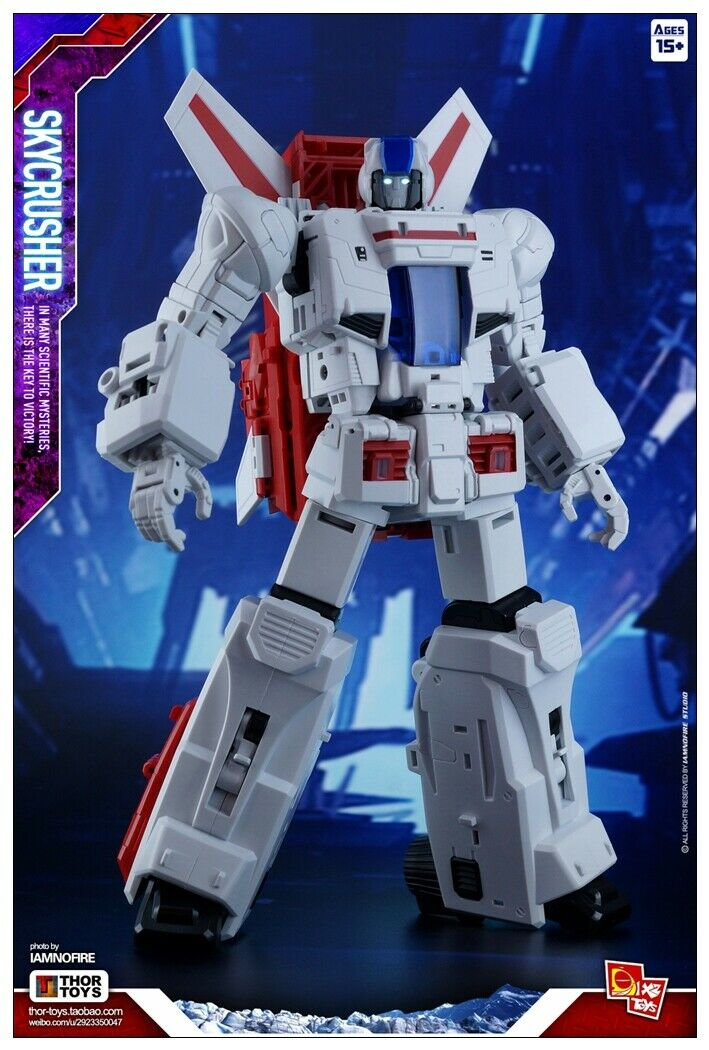 Transformers Toy x 2 Toys XT0101 VF skycrusher Skyfire  ACTION FIGURE nouveau réimpression  garantie de crédit