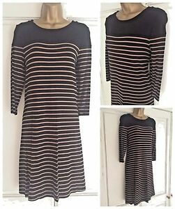 Ladies New Ex m/&s Navy Tunic  Dress Size  10 12 14 16 20 22