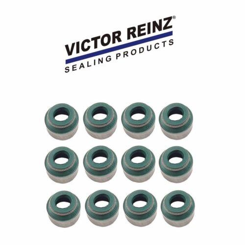 12-Pieces oem Victor Reinz Engine Valve Stem Seal For Audi BMW Porsche VW Volvo