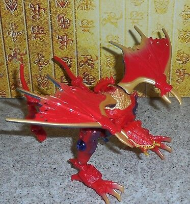 Transformers Beast Machines SAVAGE NOBLE complete Beast Changer Dragon Figure
