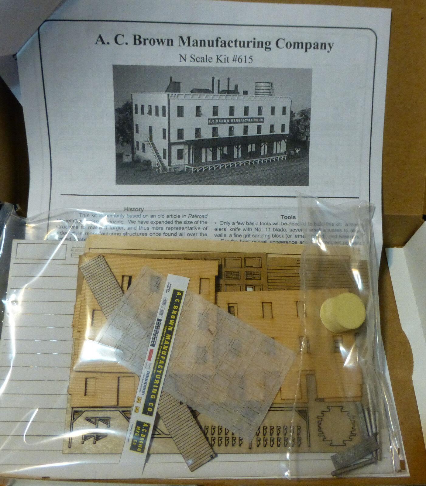American Model Builders N  615 A.C. braun Manufacturing