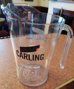 BRAND NEW IN PACKET CARLING LAGER 4 PINT PLASTIC PITCHER JUG tqUKjnBd-09084637-467800539