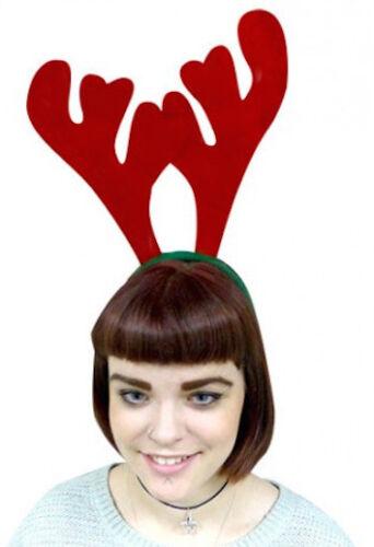 Pack of 100 Reindeer Antler Head Bands Christmas Parties Festive Fun