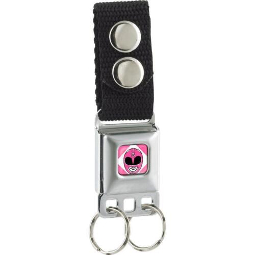 Power Rangers Pink Ranger Buckle Keychain