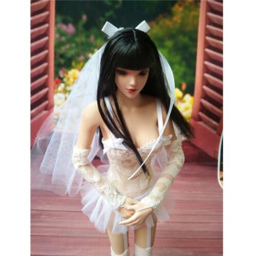 1 6 Weißes Brautkleidkleid mit Schleierset für 12 /'/' Hot Toys Phicen