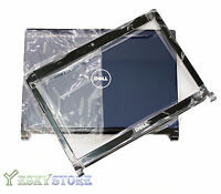 "NEW Dell Inspiron 1318 13.3"" LCD Back Cover Camport Bezel X469D F205H Blue Combo"