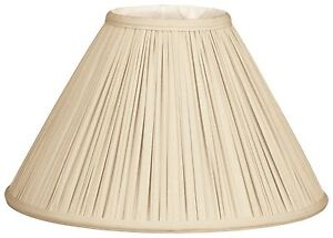 Coolie empire gather pleat lamp shade bs 752 ebay image is loading coolie empire gather pleat lamp shade bs 752 aloadofball Images