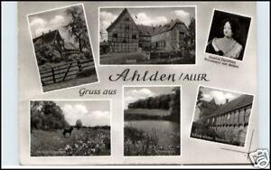 AHLDEN-ALLER-Gruss-aus-AK-Mehrbildkarte-6-Motive-alte-Postkarte