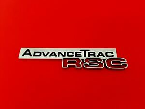 2005 2010 Ford Explorer Advance Trac Rsc Rear Emblem Badge