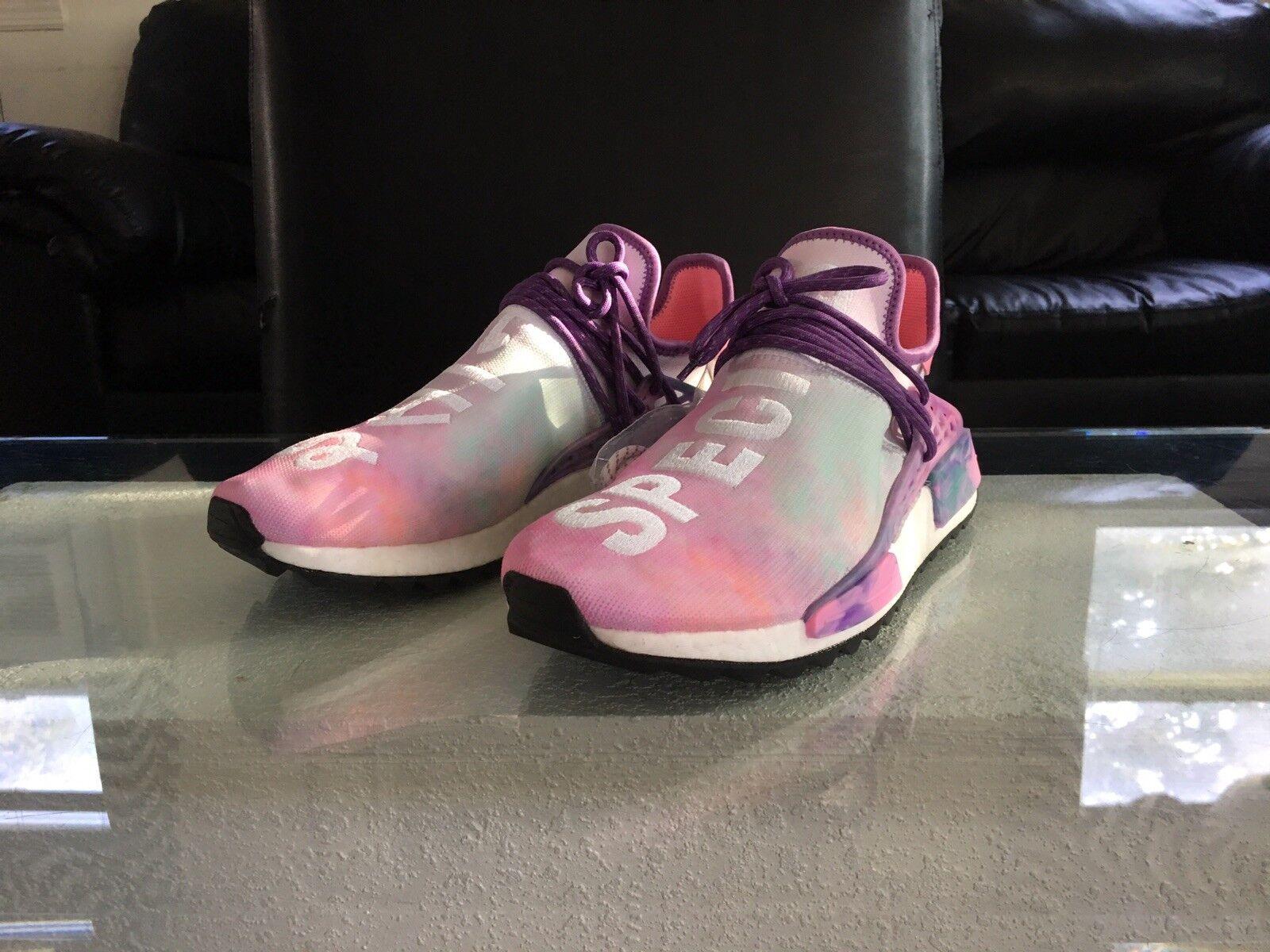 Pharrell X Adidas Human Race NMD Hu Holi Festival Pink Glow PW Williams Boost MC