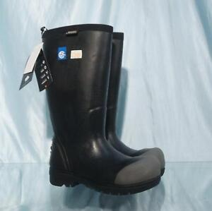 e7957ca8b01 Details about New Black BOGS FOOD PRO ST Insulated Waterproof Steel Toe  Dairy Muck Boots Sz 5