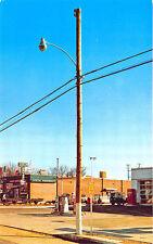 Memphis TN Gas Station Gas Pumps Coca-Cola Vending Rexall Postcard