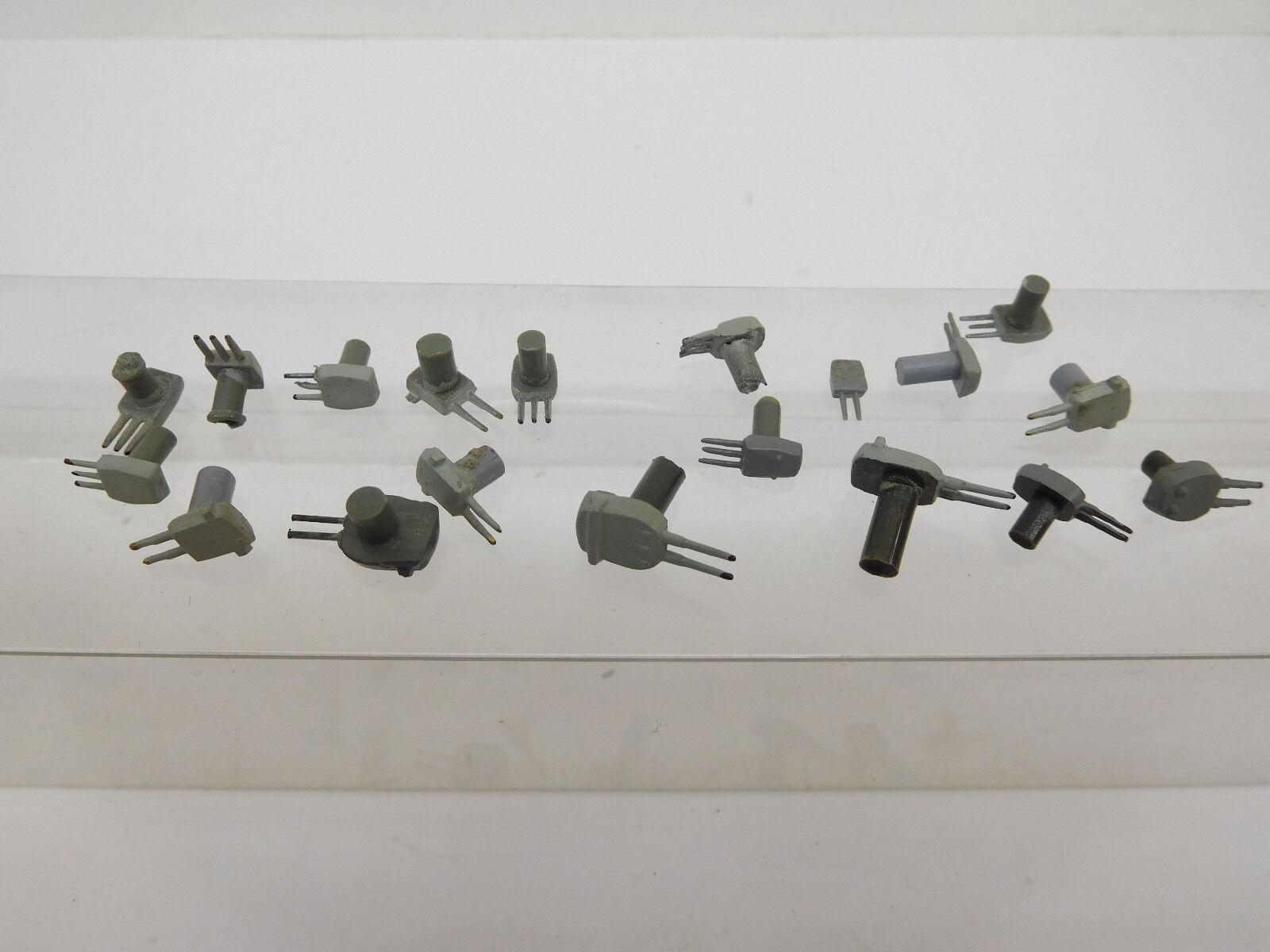 Mes-53029 Wiking 1:1250 19 St. protetti torri solitamente PLASTICA OTTIME CONDIZIONI