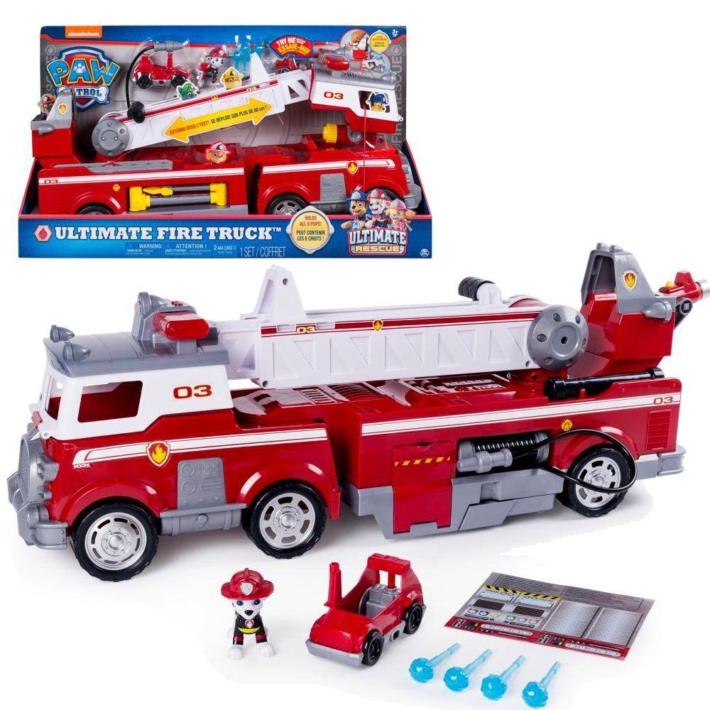 XXL Feuerwehrauto | Ultimate Rescue Fahrzeug mit Sound | Paw Patrol | Spiel Set