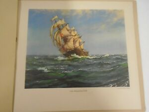 VINTAGE-PRINTS-PORTFOLIO-PAINTINGS-OF-LAND-AND-SEA-PROVIDENT-MUTUAL-X-12