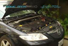 02-07 Mazda6 Mazda 6 GG Sedan Hatchback Black Strut Hood Shock Damper Kit