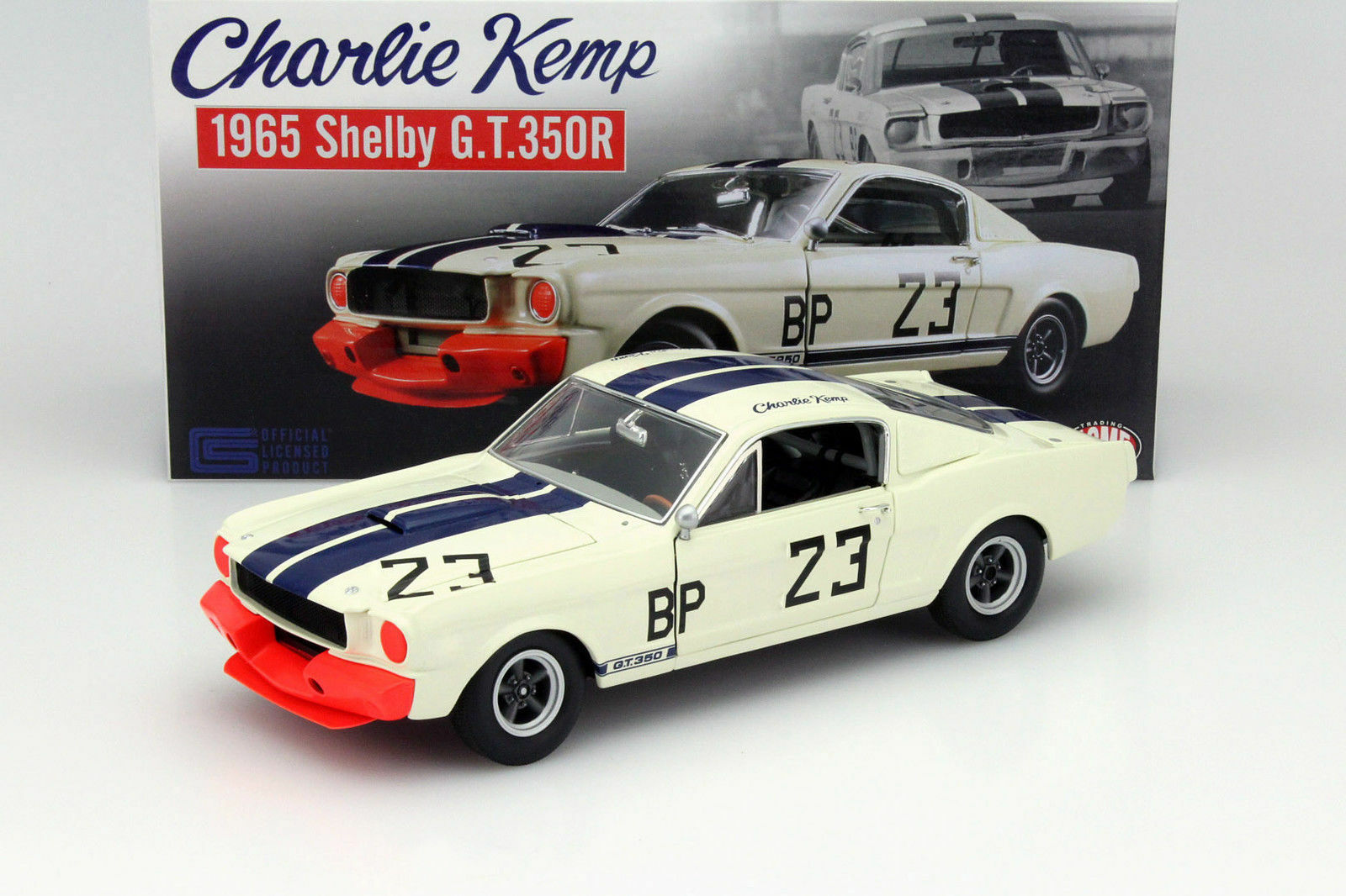 GMP ACME 1 18 65 FORD SHELBY EXCLUSIVE MUSTANG GT350 R  23 CHARLIE KEMP LTD 123