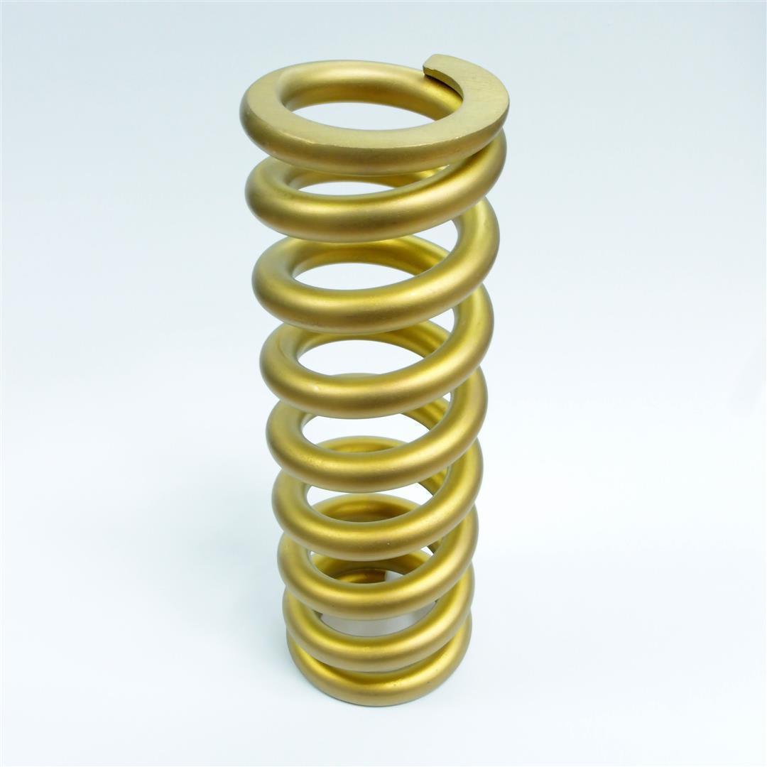 "Ti-Springs Titanium Fox Cane Creek Double Barrel 36.5mm 275lbsx3"" gold"