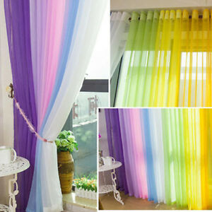 Simply-Floral-Tulle-Voile-Door-Window-Curtains-Drape-Panel-Sheer-Scarf-Valances