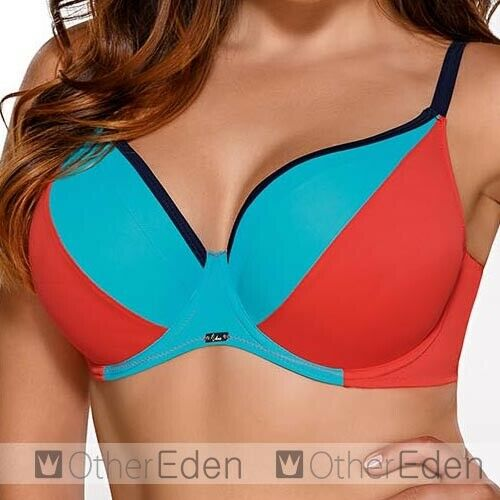 made in EU Ava SK-58 underwired soft bikini top matching bottoms available