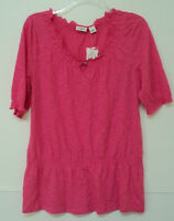 Ladies Small Cato Knit Top Pink S