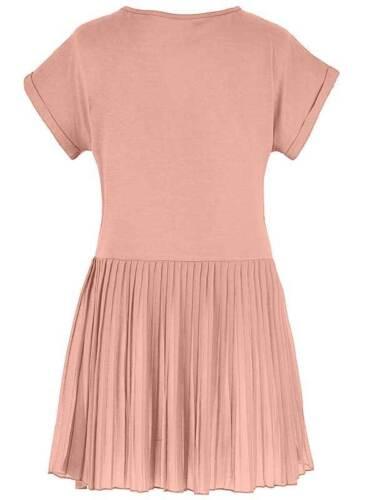 Anthology ladies top blouse t-shirt plus size 20 24 28 30 Pink Pleat Back