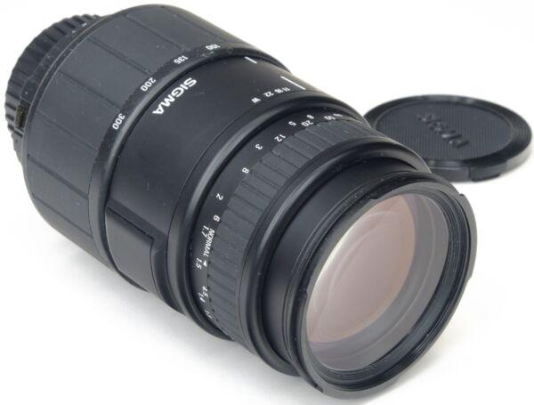 CréAtif Nikon Af 70-300mm Sigma 4-5.6 D Dl Macro