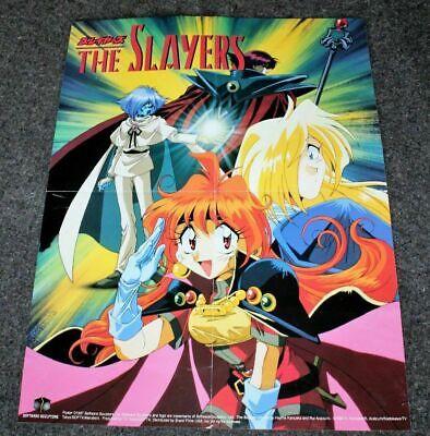Slayers 1997 Tokyo TV Anime Manga Software Sculptors PROMO ...