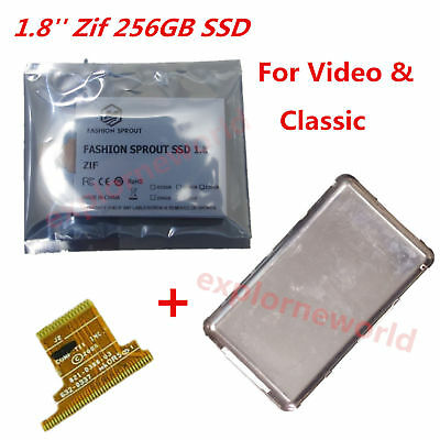 1.8 ZIF 256gb ssd Replace MK1634gal 160GB  Only For ipod classic 7th 160gb gen
