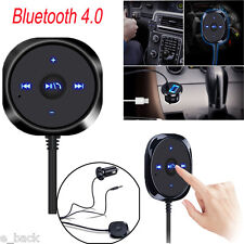 Bluetooth 4.0 Wireless Music Receiver 3.5mm Adapter Handsfree Car AUX Speaker A