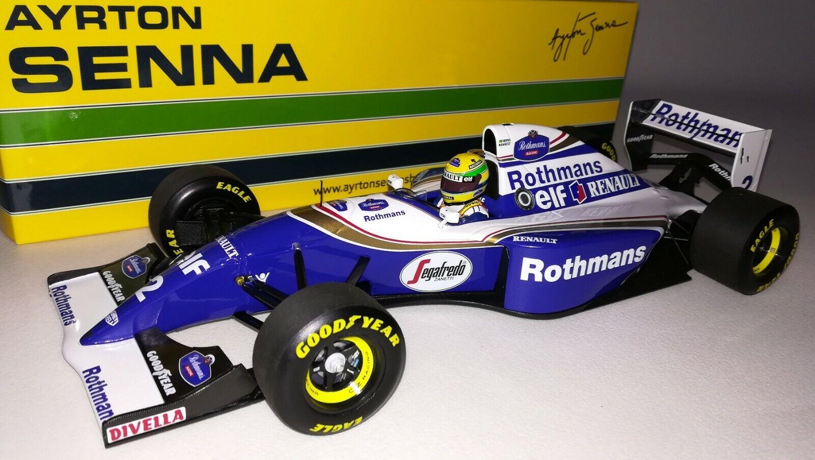 Minichamps F1 Williams Renault FW16 Ayrton Senna 1 18 Brazilian GP 1994 redhmans