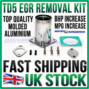 NEW-DISCOVERY-2-TD5-FULL-ALLOY-EGR-REMOVAL-KIT-BLANKING-PLATE-GASKET-amp-BOLTS