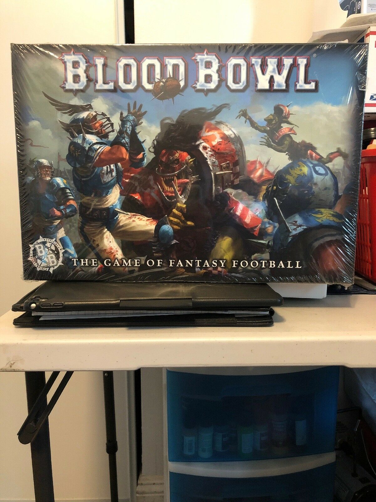 Blood Bowl The Game of Fantasy Football Two Player Starter Set (Brand New)