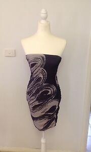 3c8247d83f Kookai Purple Strapless Bodycon Stretch Dress - Size 1 - Aus Size 6-8 ...