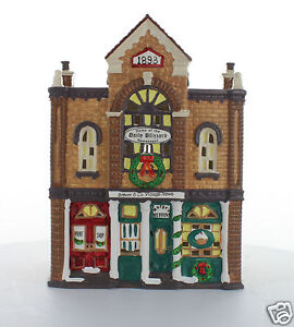 Department-56-Snow-Village-Collectible-Print-Shop-amp-Village-News-1992-54259
