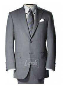 Men's Corporate Wear Gray Suit - Two Button Blazer| Trouser| Shirt and Necktie