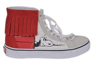 3df4a5b94984f6 NIB VANS Women s Peanuts Snoopy Dog House Bone High Top ...