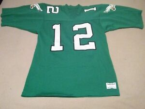 official photos e1e9f 38382 Details about Vintage #12 Randall Cunningham Philadelphia Eagles Football  Jersey Medium Philly