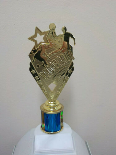 """new design about 9.5/"""" tall engraving included Dodgeball trophy or award"""