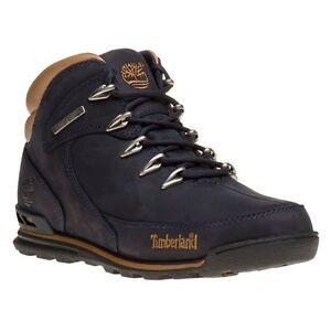 New-Mens-Timberland-Blue-Euro-Rock-Hiker-Nubuck-Boots-Lace-Up