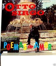 Otto Sirgo Poemas de Amor       LP