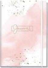 Goldblüte 156 SeitenNotizbuch Bullet Journal dotted A5 mit Gummiband