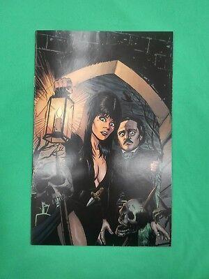Elvira Mistress of the Dark #1 1:10 Cermak B/&W Variant
