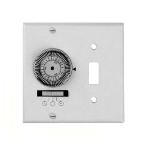 Intermatic Timer 24 Hour 2 Gang Switch Plate Lighting Timer Industrial
