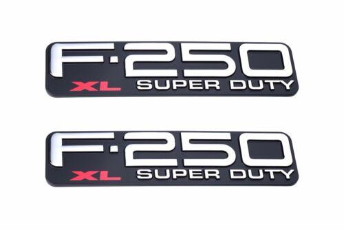 1999-2004 Ford F-250 Super Duty XL Fender Emblem Right Left OEM F81Z-16720-LB
