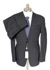 Mens ARMANI COLLEZIONI G Line Gray Plaid Wool Slim 2Btn Suit 52 6L 42 L NWT