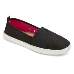 21d025d8e48 Details about Women's Mad Love Black Lonnie Slip On Shoes, Size 9 - New
